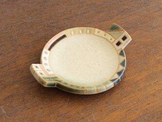 幾何学文様豆皿(丸)(No.265)の画像