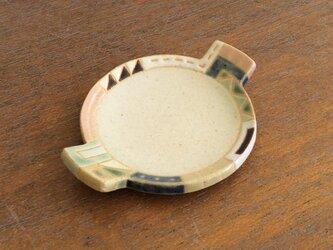 幾何学文様豆皿(丸)(No.266)の画像