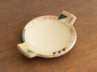 幾何学文様豆皿(丸)(No.267)の画像