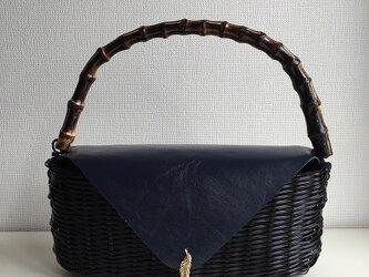 バンブーハンドバッグの画像