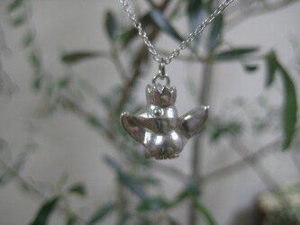 桜文鳥 ペンダント(silver)  の画像