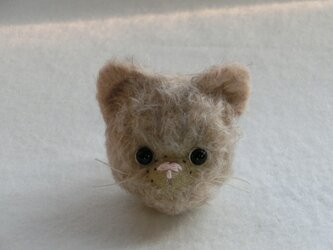 ネコのmimo(ブローチ)の画像