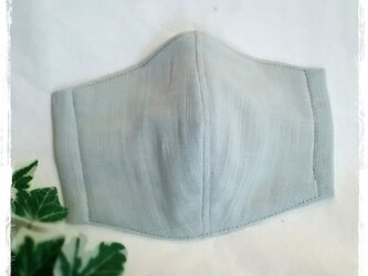 (L)ミントグレー*ワイヤ入り立体マスクの画像