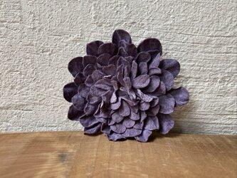 革花のブローチピン 2Lサイズ 薄紫の画像