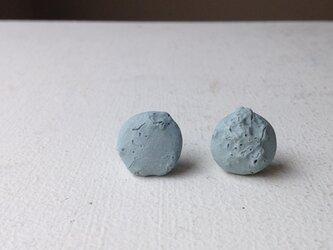 陶器ピアス 化石Aの画像