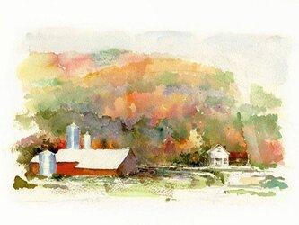 秋のデルハイ風景の画像
