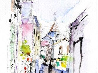 イタリアの小路の画像