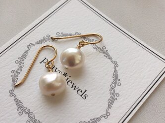 14kgf 高品質baroque pearlの画像