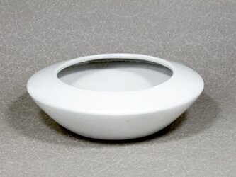 粉引 菱形植木鉢の画像