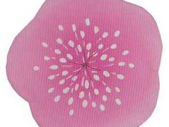 雛祭りコースター(桃の花)の画像