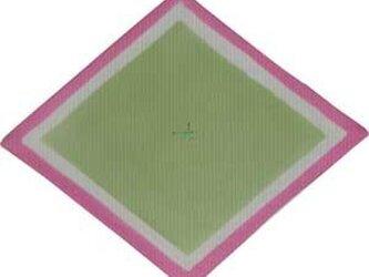 雛祭りコースター(菱餅)の画像