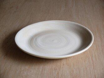 白土化粧七寸皿の画像