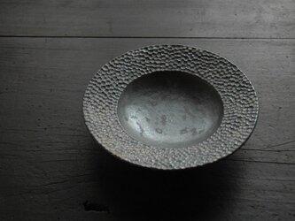 黒結晶水玉皿の画像