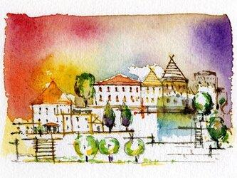 高台の街並みⅡの画像