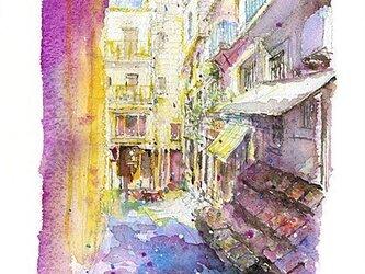 ベネチアの裏道の画像