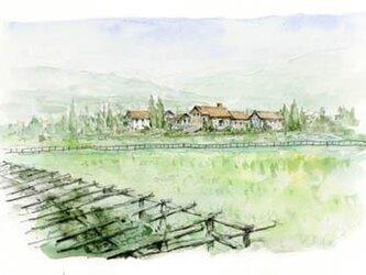 フランスの田舎風景の画像