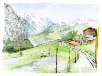 スイスの風景の画像