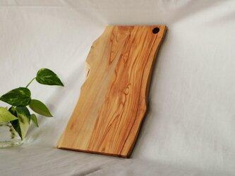"""オリーブの木(小豆島産)カッティングボード """"レッチノ"""" Mサイズの画像"""