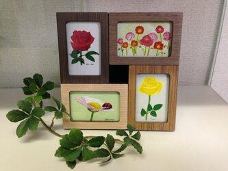 花の組み絵の画像