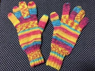 5本指手袋(Opal 星の王子さま 7766)-2の画像
