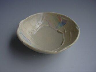 鏝塗レインボー鉢(小)の画像