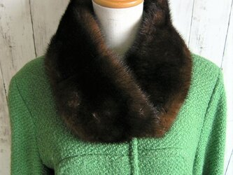 ¶ new antique fur ¶ デミバフミンクファーnejiriスヌード「rino」の画像