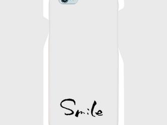 【送料無料】iPhone6/6sスマホケース Smileの画像