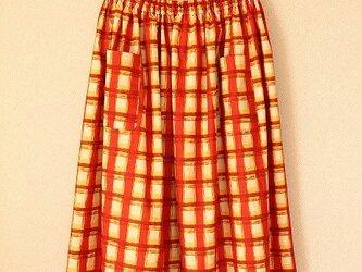 *夕日が染める赤レンガ倉庫~ギャザースカート*の画像
