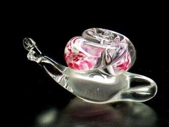 ガラスのかたつむり『ピンク』の画像