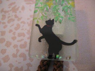 猫のおさんぽ(ループタイ)の画像
