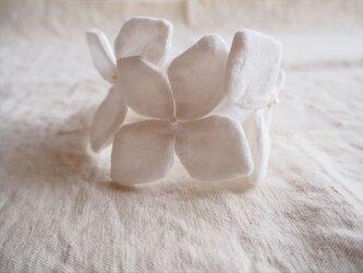 hydrangea wreath -bracelet-の画像