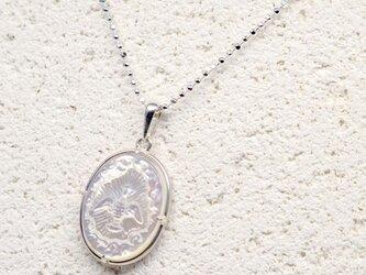 CPN-002 Spirit of God 白い鳩のネックレスの画像