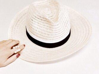 linen hatの画像