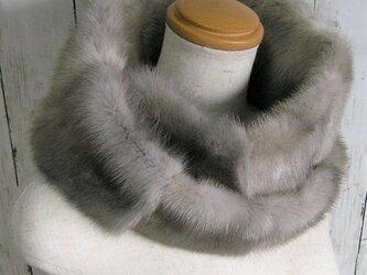 ¶ new antique fur ¶ サファイアミンクファーnejiriスヌード「sophia」の画像