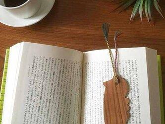 桜の木の Book Marker *鳥*の画像