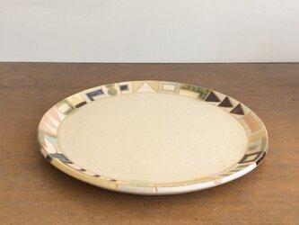 幾何学文様7寸皿(No.274)の画像