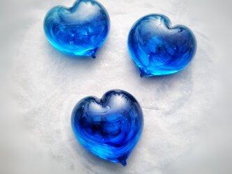 お好きな言葉を彫ります『オーダーメイドミニ石文・ブルー』の画像