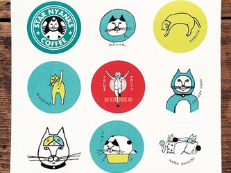 猫派さんのシールの画像