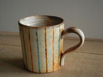 百色(ももいろ)象嵌 マグカップ 縦縞の画像