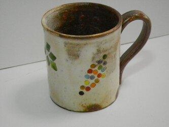 百色(ももいろ)象嵌 マグカップ ぶどうの画像