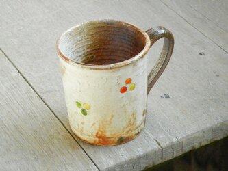 百色(ももいろ)象嵌 マグカップ 丸紋の画像