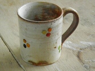 百色(ももいろ)象嵌 マグカップ(小)丸紋の画像