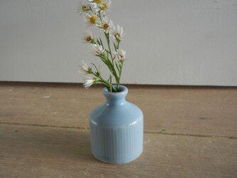 ミニ一輪挿し 青磁インク瓶形の画像