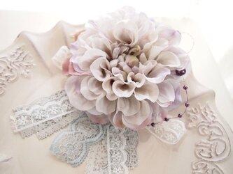 入園入学卒業、結婚式に大人可愛いコサージュ・ダリアCL7の画像