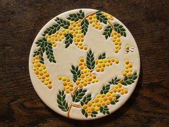 ミモザとみつばち Mimosa y Abeja [Sold]の画像
