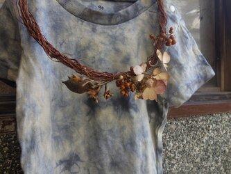 草木染めTシャツ~enjyu+akaminoki~90の画像