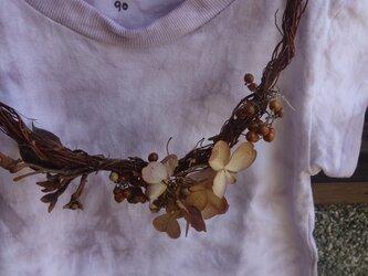 草木染Tシャツ~akaminoki-iro~90の画像