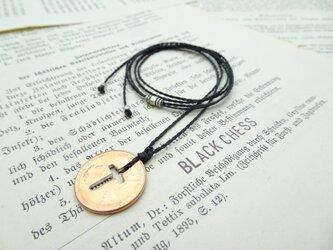 幸運のペニー硬貨のネックレス N68の画像