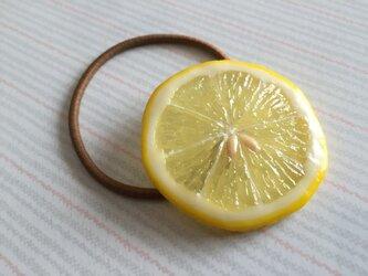 再販★ レモン ヘアゴムの画像