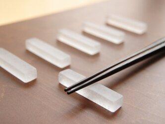 agar : お箸置きの画像